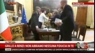 Renzi-Grillo: o la va o la spacca